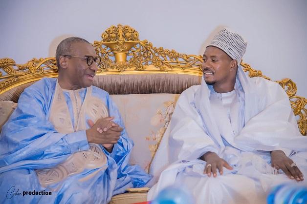 Sidiki Kaba en visite à Touba: Il s'est entretenu avec Serigne Bassirou Abdoul Khadre Mbacké