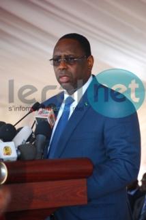 Le président de la République adresse un message d'encouragement aux Lions