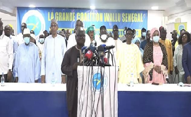 Maintien de sa coalition jusqu'en 2024: Wallu Senegaal fait du « copier-coller » sur le programme Yewwi Askan Wi