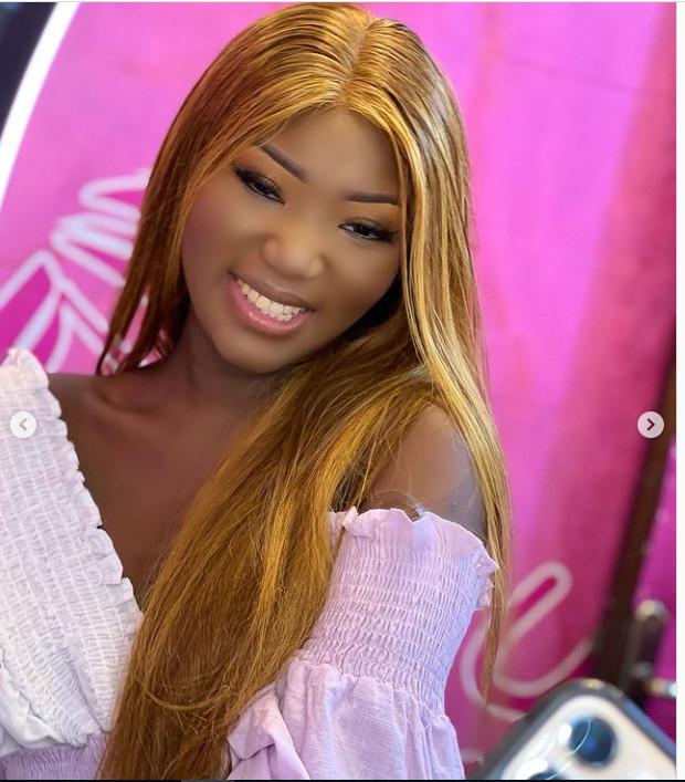 Make-up, sagnsé...Amy de la série Adja séduit ses followers (Photos)