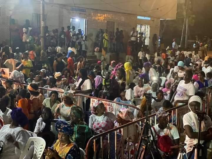 PHOTOS/ Elections locales: Investiture d'Ahmed Aidara, candidat à la Mairie de Guédiawaye