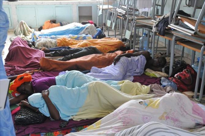 L'Amicale des Travailleurs de l'Electricité (ATE) en grève de la faim