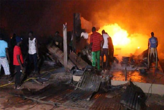 Incendie au marché Khar Yalla à Médina Baye: Les victimes s'indignent et interpellent les autorités aphones