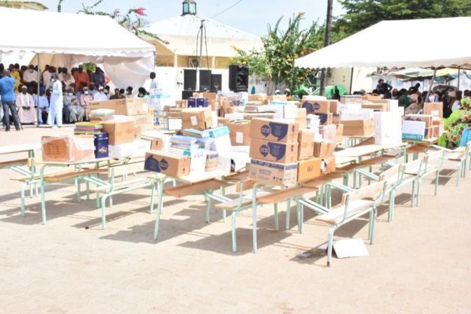 Sangalkam: Oumar Guèye débloque 40 millions FCfa pour les élèves