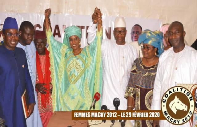 Macky 2012 honore une Grande Dame: Mously Diakhaté nommée présidente