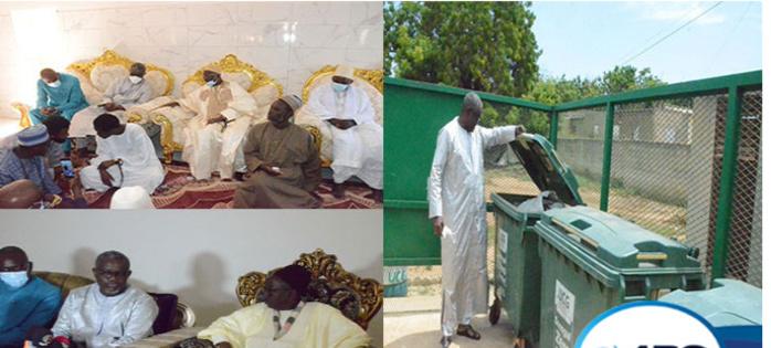 Du matériel de nettoiement de l'Ucg à Ndiassane et Keur Mame Elhadji