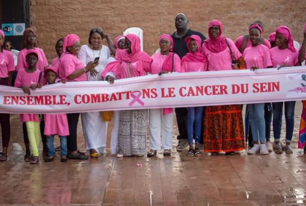 Campagne Octobre rose à Louga: La Ligue Sénégalaise contre le Cancer veut dépister 600 femmes