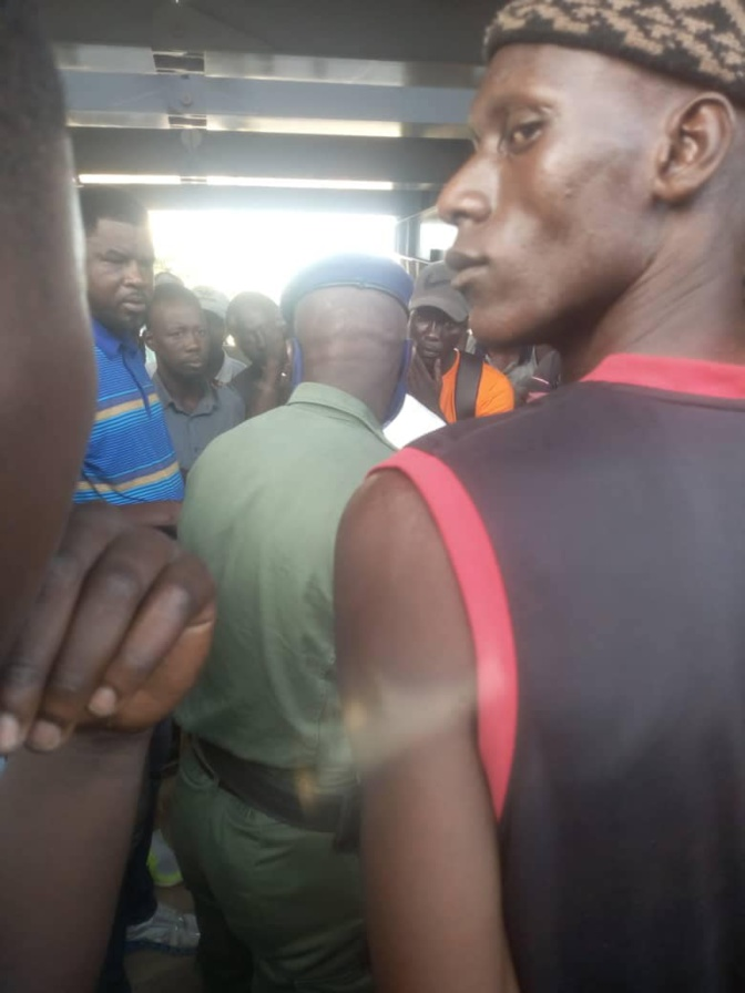 Les grévistes de la faim de l' A.T.E National de la Senelec, sommés de quitter les lieux par la Gendarmerie