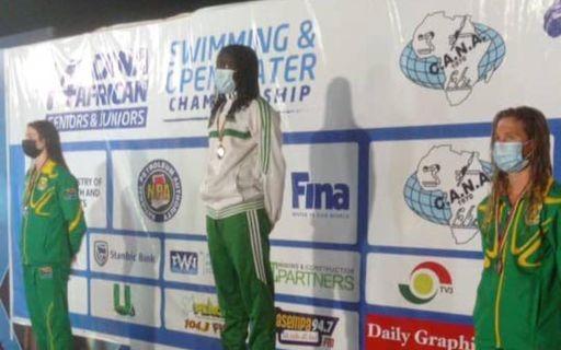 Jeux Africains / Natation: Oumy Diop offre au Sénégal sa première médaille d'or