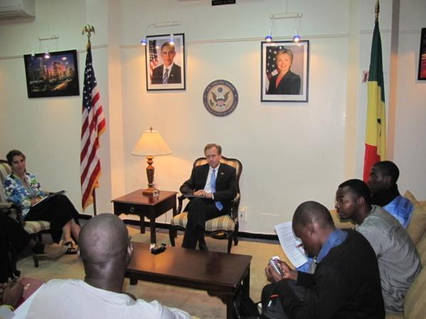 """Lewis Lukens, ambassadeur des Etats-Unis: """"L'Afrique et sa population sont des partenaires de l'Amérique..."""""""