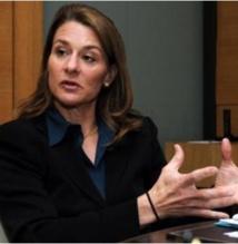 L'épouse de Bill Gates parle de son combat pour les mères africaines