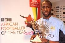 Football : Yaya Touré enfin sacré meilleur joueur africain par la BBC