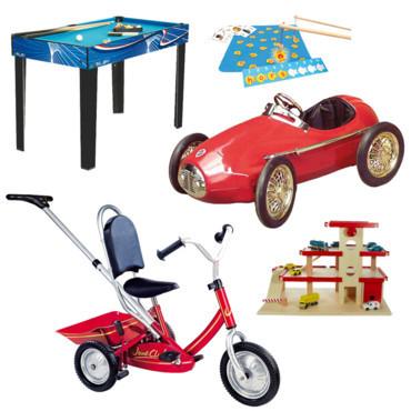 Des jouets à gogo pour les enfants