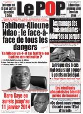 A la Une du Journal Le Populaire du mercredi 04 Décembre 2013