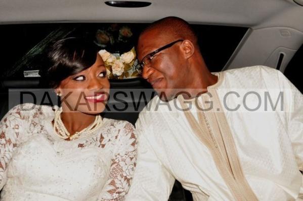 Revivez en images le mariage de Naelle Thiam la Fille du Colonel des Douanes Ismael Thiam