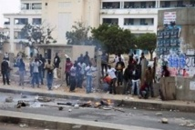 Dernière minute - Ucad : Les étudiants en grève, bloquent la circulation sur la Corniche