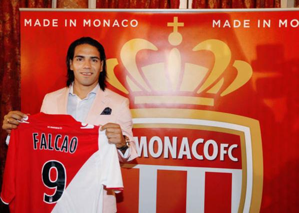 Monaco: Saison terminée pour Radamel Falcao