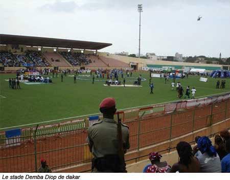 Mod'Lô-Eumeu Sène: Les premières images du stade Demba Diop
