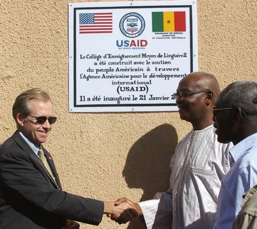 L'Ambassadeur Lewis Lukens visite les régions de Louga, Matam et Saint-Louis