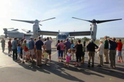 Un avion Osprey de la marine américaine séjourne à Dakar dans le cadre de la coopération militaire