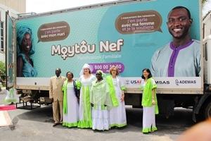 L'USAID soutient la campagne nationale de planification familiale