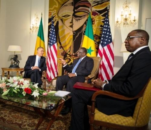 Le président Obama visite le Sénégal