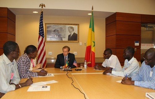 Déclaration de l'Ambassadeur Lewis Lukens - Visite du Président Obama au Sénégal