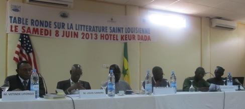 Table ronde sur la littérature saint-louisienne et afro-américaine