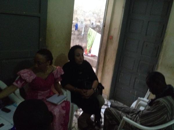 Photos - Hélène Della Chaupin, la soeur de Souleymane Jules Diop préside la reunion ASSKAW
