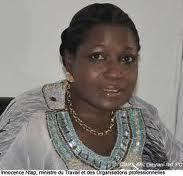 """Innocence Ntap, ancienne ministre d'Etat : """"Karim Wade ne peut pas être en prison et qu'Abdoulaye Baldé circule librement"""""""