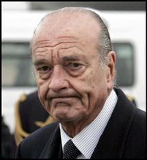 L'ancien président français Jacques Chirac hospitalisé à Neuilly