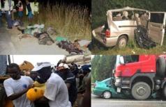 Accidents de la circulation : La route a fait 18212 victimes dont 456 morts en 2013