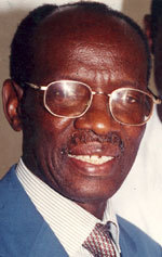 Hommage au maire Mamadou Diop