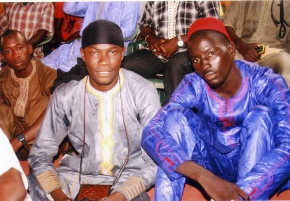 Sidy Diakhaté avec son ami Bathie Ndiaye