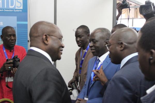 Oumar Guèye à l'ouverture de la conférence régionale sur la sûreté de l'aviation civile