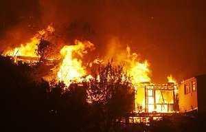 Vidéo- Daaka : un incendie fait des blessés