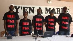 Audio - « Y'en a marre » revient avec la foire aux problèmes : Fadel Barro et Cie dans le maquis