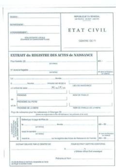 Faux extrait de naissance : Le 1er adjoint au maire de Hann-Bel Air écroué