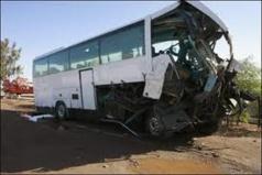 Accident de la circulation à Koutal : Une collision entre un bus et un taxi fait un mort et deux blessés