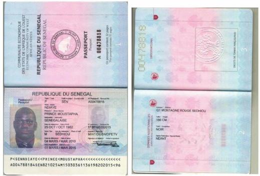 Documents - Exclusif ! Prince Moustapha Ndiaye, l'escroc sénégalais qui a failli soutirer 100 milliards de francs CFA au gouvernement brésilien