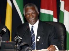 L'Afrique perd 50 milliards de dollars par an, selon Thabo Mbeki