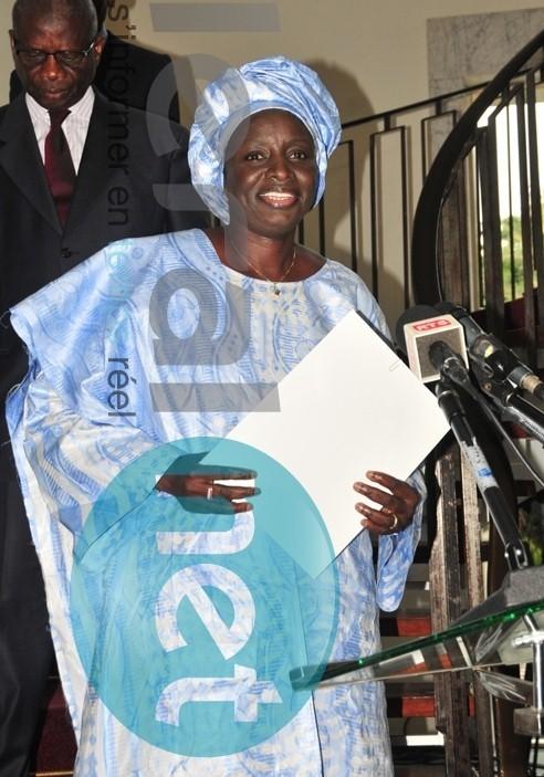 """Aminata Touré aux populations de sa commune : """"N'acceptez jamais que Grand-Yoff soit un escalier pour atteindre la mairie de Dakar !"""""""