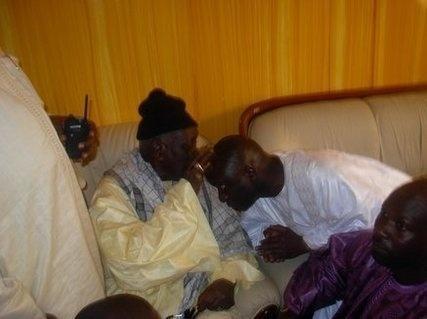 Idrissa Seck est à Touba, invité spécial du Khalife Général des Mourides
