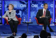 Hillary Clinton prend ses distances avec Barack Obama