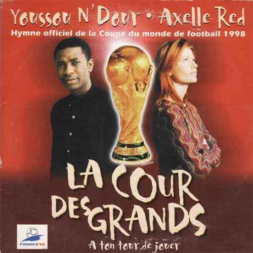 Youssou ndour 3 me meilleur hymne de la coupe du monde - Hymne coupe du monde 1998 ...