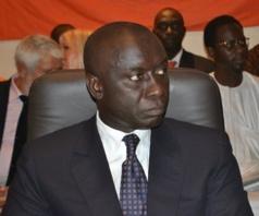 Idrissa Seck à Dakar