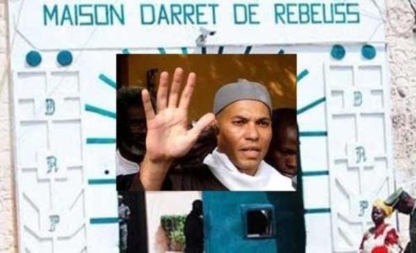 Karim Wade n'est pas en isolement (ministère)