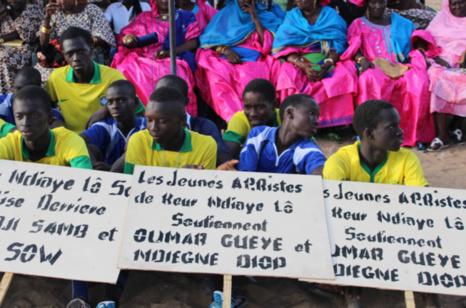 Forte Mobilisation au meeting du Ministre Oumar Gueye de la coalition Benno Bokk Yakaar ( Images )