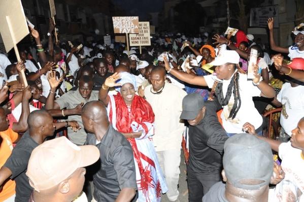 """Violences électorales à Grand Yoff :""""Taxawu Dakar ak Khalifa Sall"""" pointe un doigt accusateur sur Mimi Touré"""