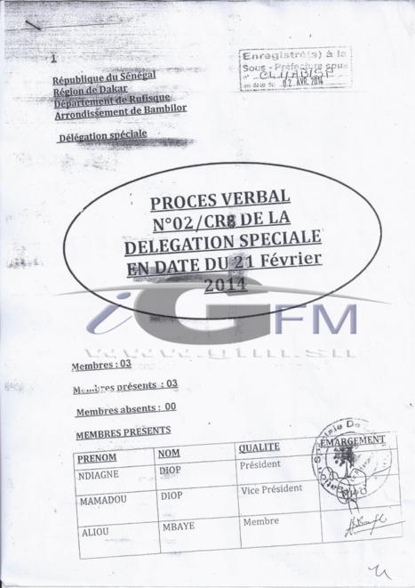 (Documents) Scandale foncier à Bambilor: Thione Seck, Bougane Guèye Dani et Me Augustin Senghor… au cœur du « deal »